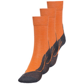 axant 73 Merino Socks Kids 3er Pack orange